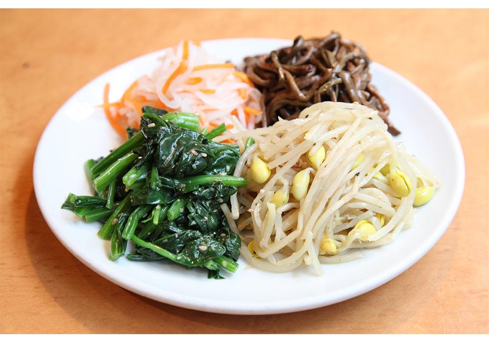 ナムル(Seasoned Vegetables)